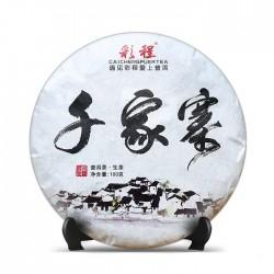 Цянь Цзя Чжай Шен Пуэр 100г (2016)